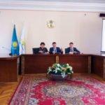 Совещание в антимонопольном комитете г. Алматы представителей сервисных компаний
