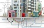 коммунальные сети, Передача электросетей