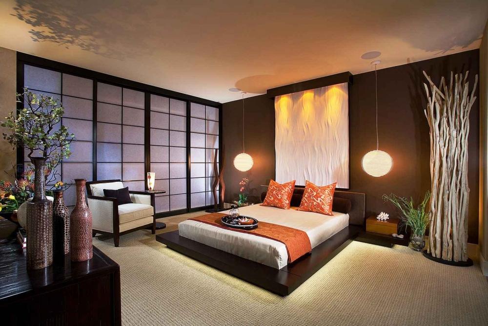 Интерьер в азиатском стиле (фото 1)