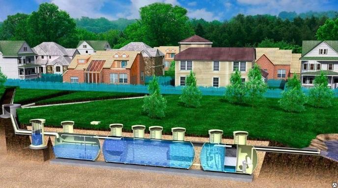 строительство водопровода и водоотведения, схема 001