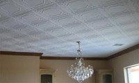 Оклейка потолка плитками (фото-1)