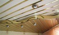 Реечные потолки (фото 1)