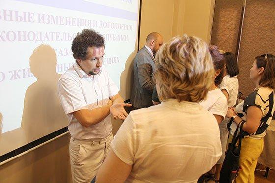 Конференция о ЖКХ в Казахстане, 12 июля 2019. Обсуждение Закона о жилищных отношениях в РК (фото-5)
