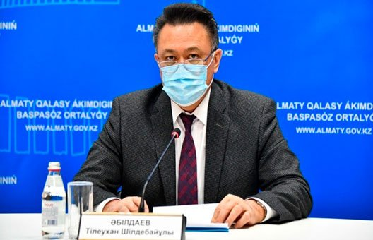 Абилдаев Тлеухан - Руководитель Управления общественного здоровья Алматы