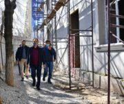 Б. Сагинтаев ознакомился с ходом строительства социальных объектов и модернизацией инженерной инфраструктуры