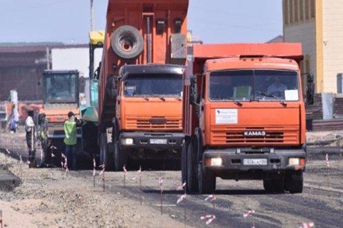 автомобильные дороги в Казахстане